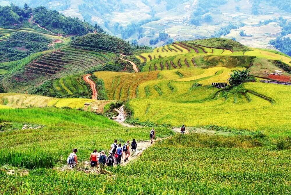 Trekking Lao Chai Ta Van village
